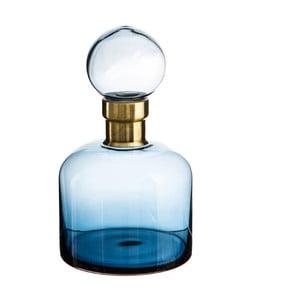 Niebieski flakon Denzzo Saulo, wysokość 26,5 cm
