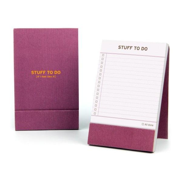 Notatnik Stuff To Do
