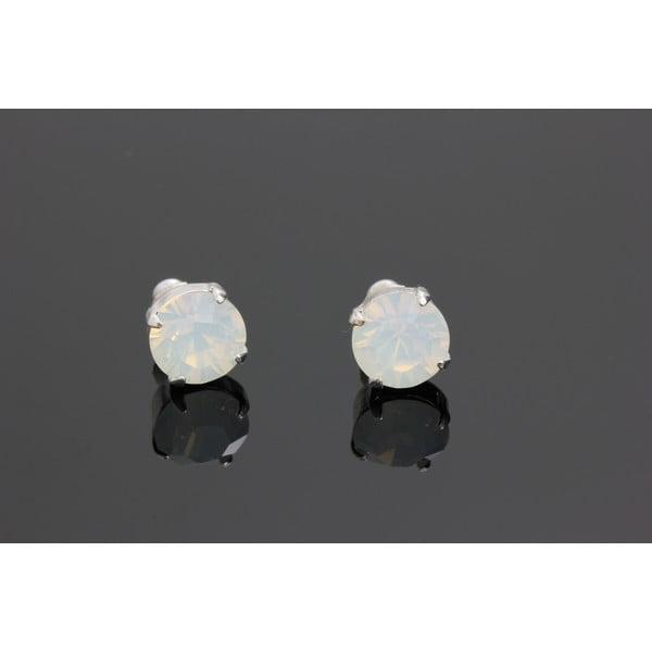 Kolczyki Swarovski Elements Opal