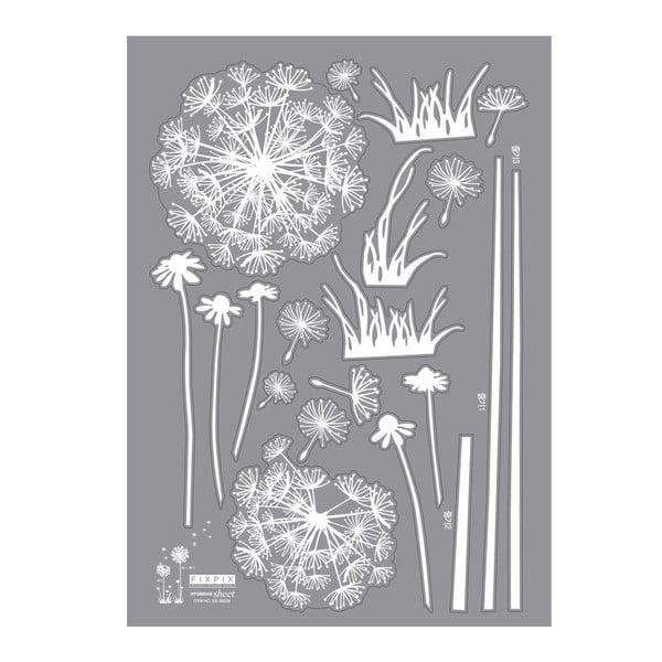 Zestaw naklejek Ambiance Dandelion Flowers Stickers