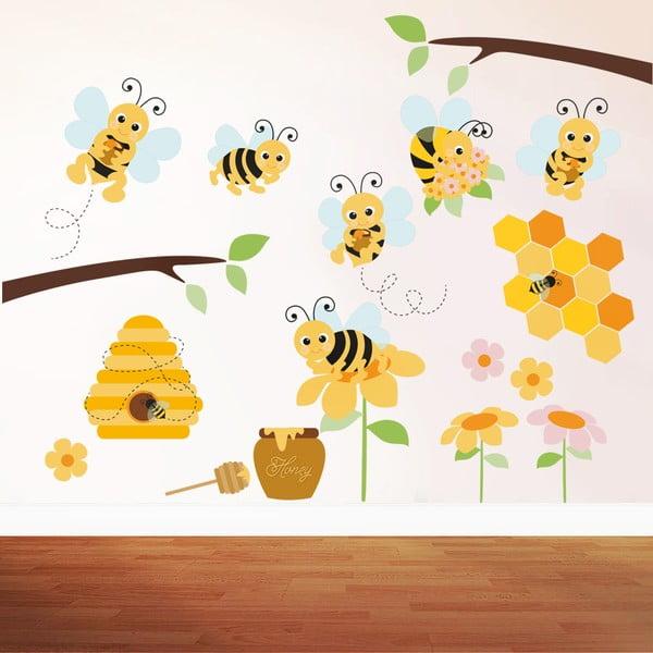 Naklejka ścienna Pszczółka, 90x60 cm