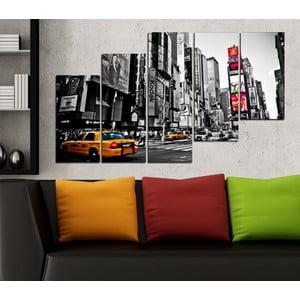 5-częściowy obraz Nowy Jork