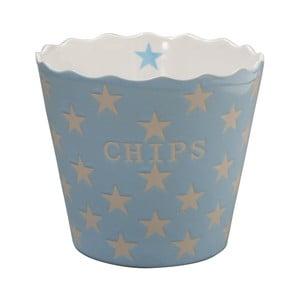 Miska na chipsy Krasilnikoff Baby Blue Star