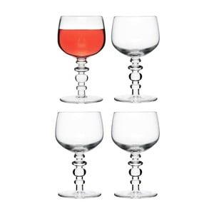 Kieliszki do wina Spectra 4 szt, bezbarwne