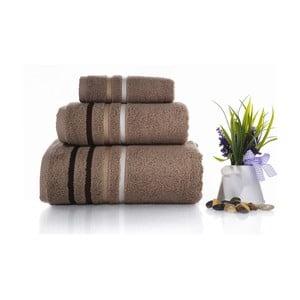 Zestaw 3 ręczników Lines V4, 30x50 cm + 50x100 cm + 70x140 cm