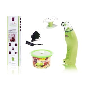 Zestaw do pakowania próżniowego Svuotino Green z adapterem, 5 szt.