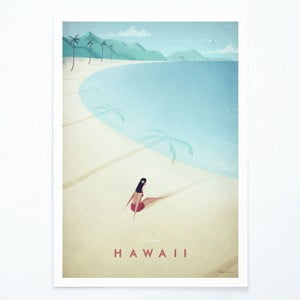 Plakat Travelposter Hawaii, A2