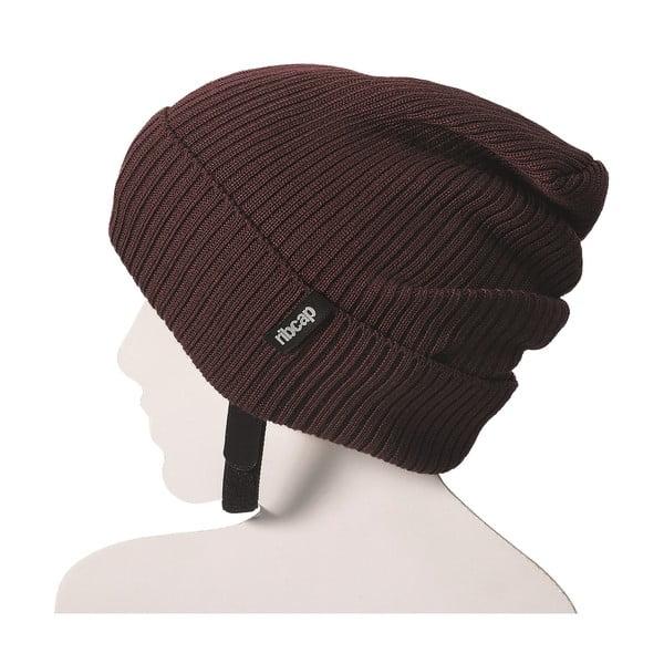 Bordowe czapka ochronna Ribcap Lenny, S