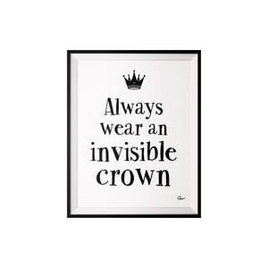 Plakat Crown, 40x50 cm