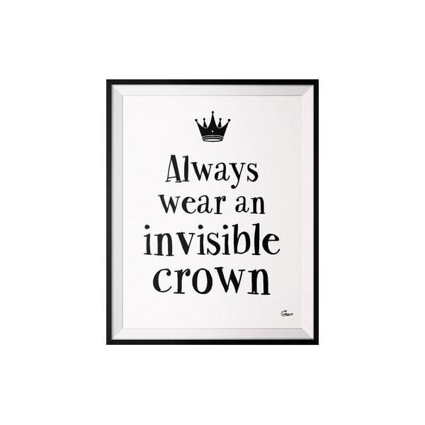 Plakat Crown, 50x70 cm