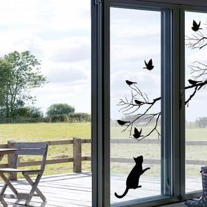 Naklejka na okno Kot