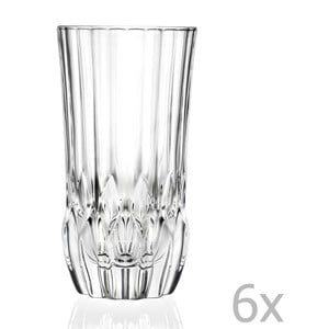 Zestaw 6 szklanek RCR Cristalleria Italiana Bettina