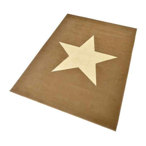 Brązowy dywan dziecięcy Hanse Home Gwiazda, 140x200cm