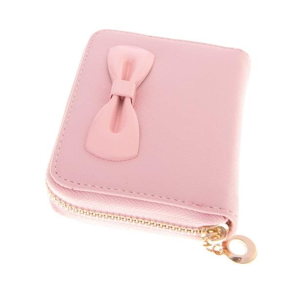Mały portfel Ladiest, jasnorózowy