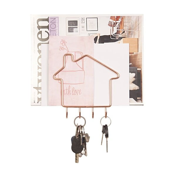 Wieszak na klucze Key Home Copper