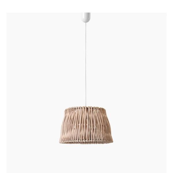 Lampa wisząca Line, 27x18 cm, brązowa