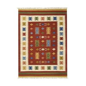Dywan tkany ręcznie Kilim Jasmine, 75x125cm