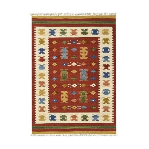Dywan tkany ręcznie Kilim Jasmine, 95x155cm