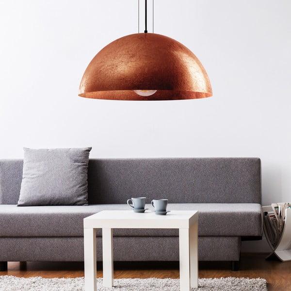 Miedziana lampa wisząca Bulb Attack Cuatro XL