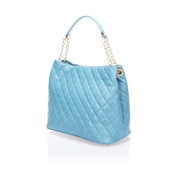 Niebieska torebka skórzana  Markese 6938