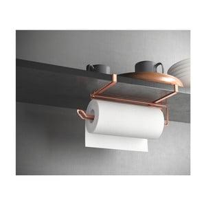 Uchwyt na ręczniki papierowe w kolorze miedzi Metaltex