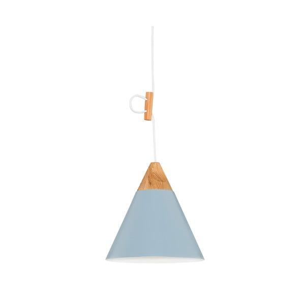 Lampa wisząca Tomas M, niebieska