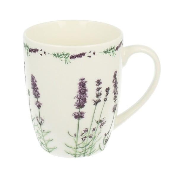 Kubek porcelanowy Duo Gift Lavender, 320 ml