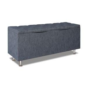 Szary pojemnik na pościel Gemega Coffin, długość 122 cm