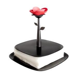 Stojak na serwetki Vigar Black Flower