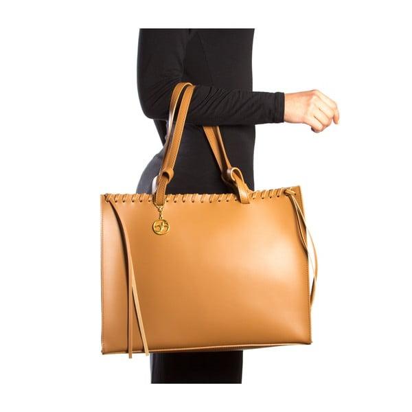 Skórzana torebka Felicia, koniak