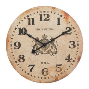 Zegar ścienny J-Line New Era, 80 cm