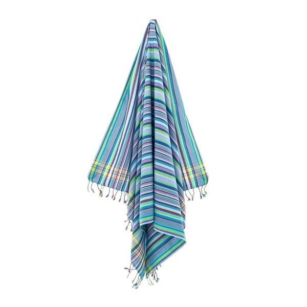 Ręcznik/pareo Inci Blue, 100x178 cm