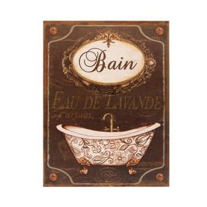 Tabliczka metalowa Antic Line Bain