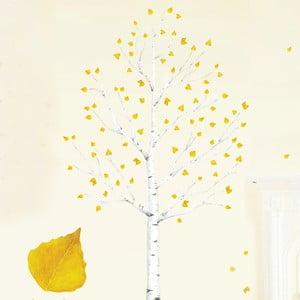 Naklejka wielokrotnego użytku Autumn Leaves