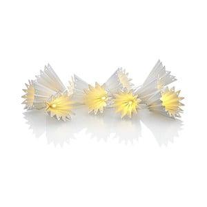 Papierowa girlanda świetlna LED Markslöjd Klocka