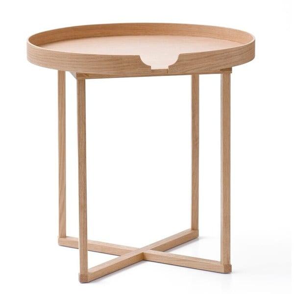 Stolik  Damieh Oak/Oak, 45x45 cm
