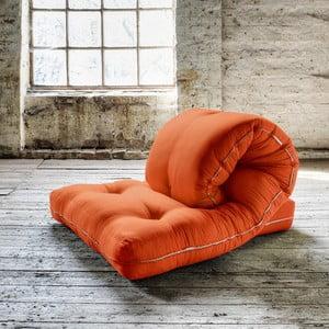 Fotel rokładany Karup Loop Orange