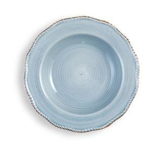 Średni jasnoniebieski talerz Brandani