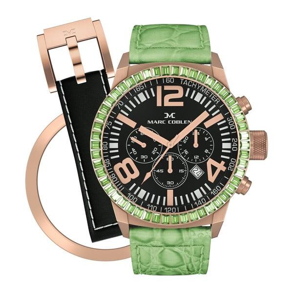Zegarek damski Marc Coblen z dodatkowym paskiem i obręczą P86