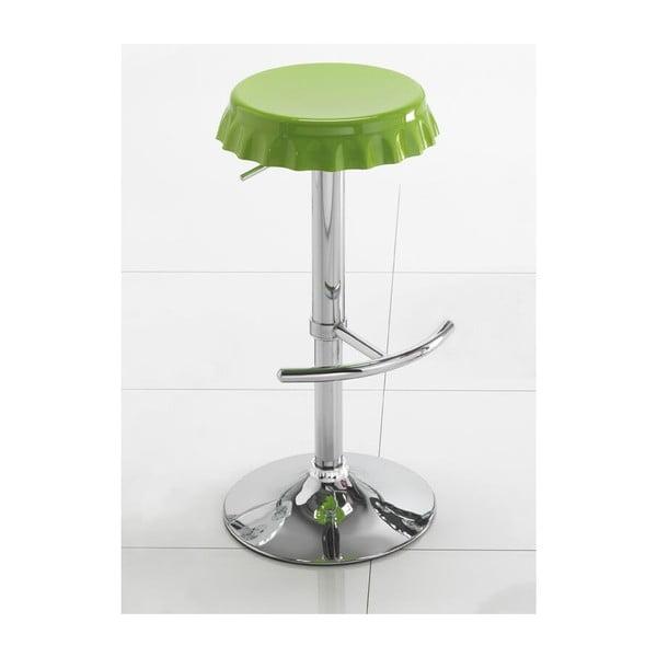 Zielony stołek barowy Tomasucci Tappo