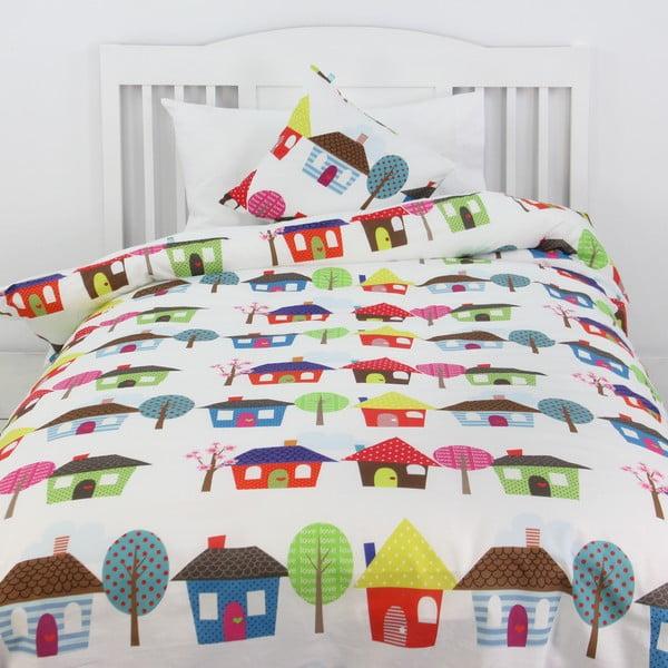 Poszwa na kołdrę i poduszkę Happy Homes 140x200 cm