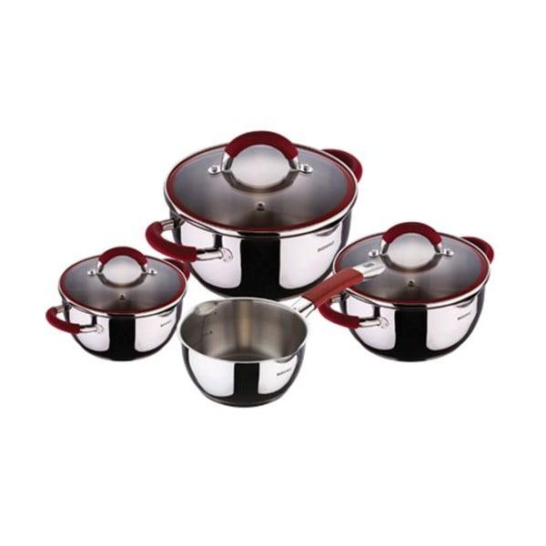 Zestaw Cookware Red, 7 szt.