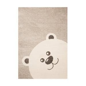 Brązowy dywan dziecięcy Zala Living Bear, 120x170 cm