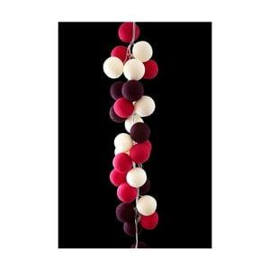 Girlanda świetlna Cherry Pop, 35 światełek
