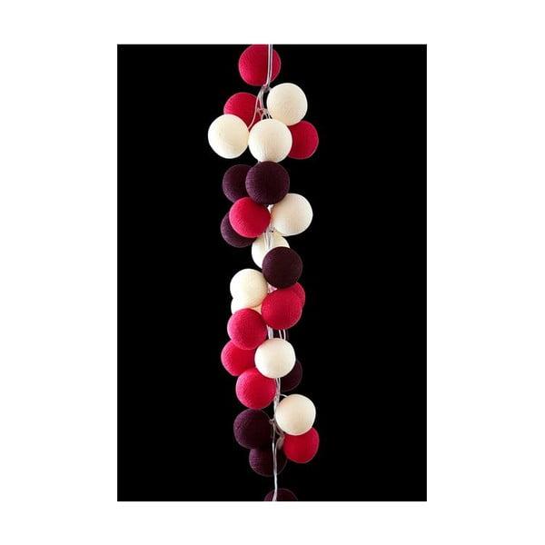 Girlanda świetlna Cherry Pop, 20 światełek