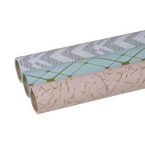 Zestaw 3 rolek papieru prezentowego Stockholm