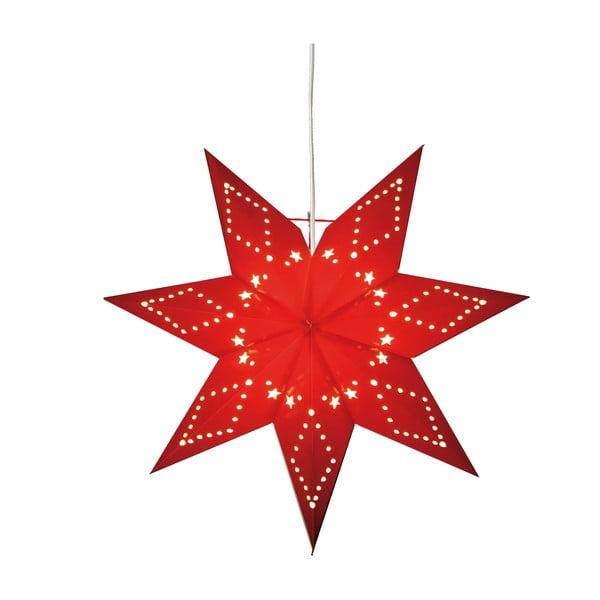 Czerwona gwiazda świecąca Best Season Paperstar Katabo, 43 cm