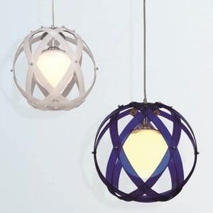 Lampa sufitowa Nefeli, niebieska
