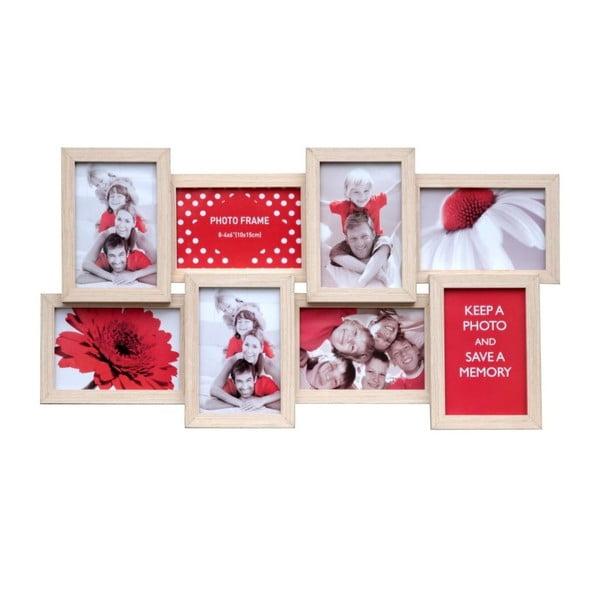Połączone ramki na 8 zdjęć Romantico, kremowe