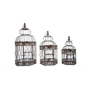 Zestaw 3 klatek Antic Line Bird Cage